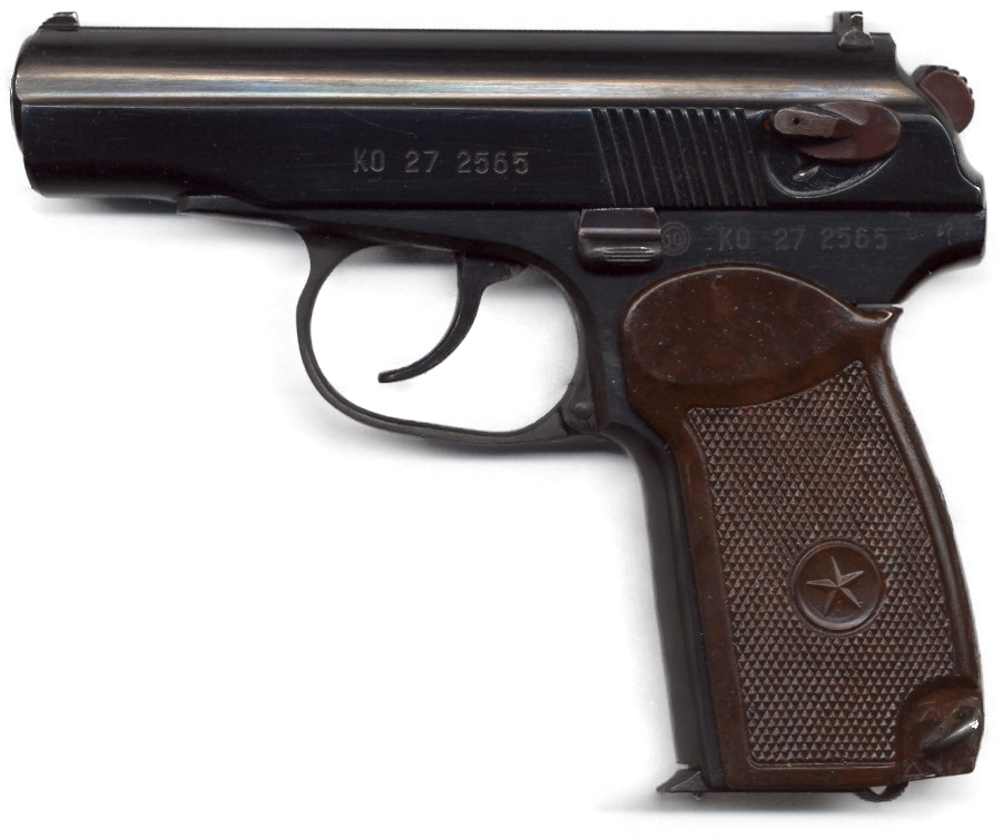 Pistole Makarov PM 9 mm 1987 (8 schüssig)