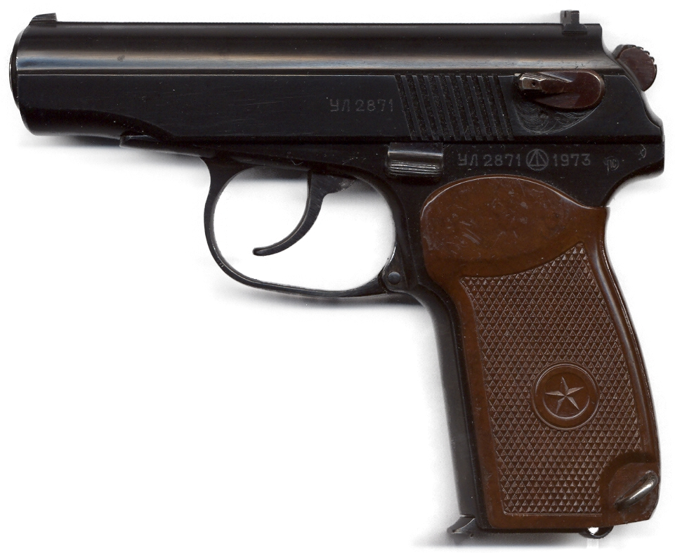 Pistole Makarov 9 mm PM