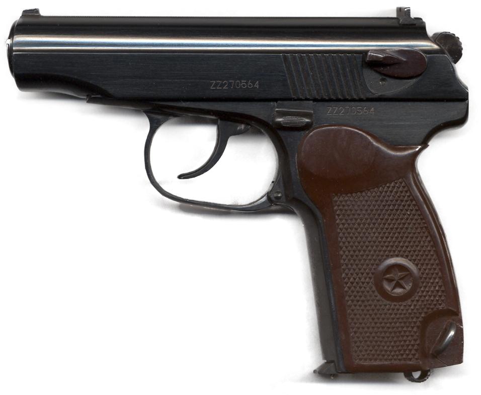 Pistole Makarov PM 9 mm - Model 59 (8 schüssig)