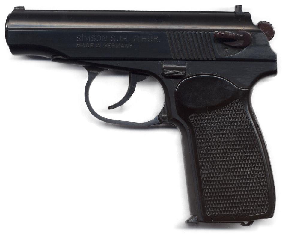 Pistole Makarov PM 9 mm ca. 1995 (8 schüssig)
