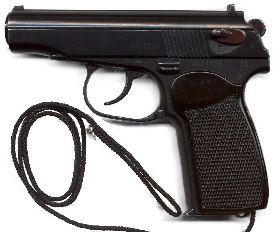 Pistole Makarov PM 9 mm 1961 (8 schüssig)